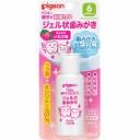 PIGEON Зубная паста детская для чистки молочных зубов гелеобразная клубника с 6 мес 40гр
