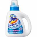 """Высокоэффективный гель для стирки белья с антибактериальным эффектом КАО """"Attack"""" ЕХ Super Clear с ароматом зелени, бутылка 900г"""